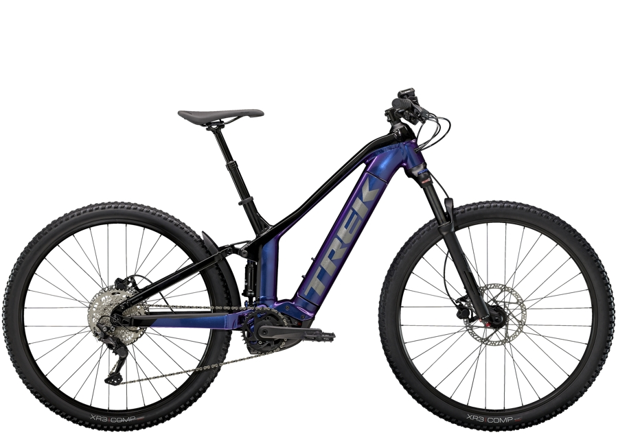 Trek Powerfly FS 4 500 XL (29  wheel) Purple Flip/Trek Black