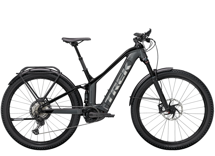 Trek Powerfly FS 9 Equipped L (29  wheel) Lithium Grey/Trek Black