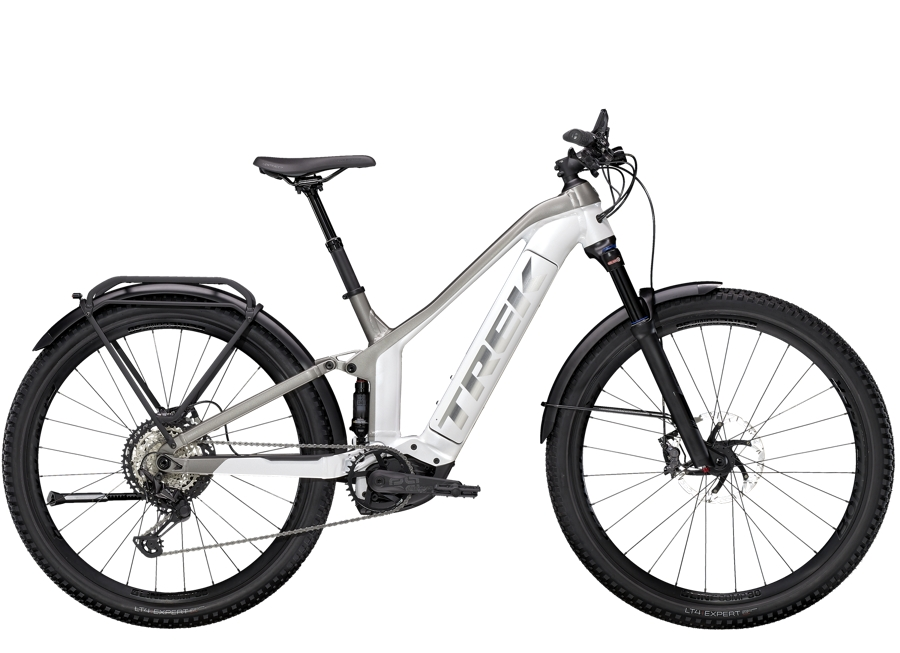Trek Powerfly FS 9 Equipped S (27.5  wheel) Crystal White/Metallic Gunmetal