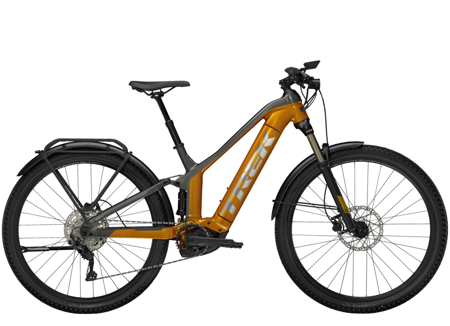 Trek Powerfly FS 4 Equipped XS (27.5  wheel) Factory Orange/Lithium Grey