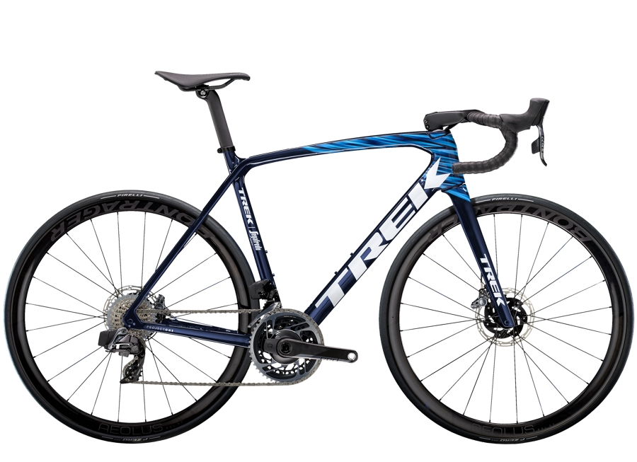 Trek Émonda SLR 9 eTap 56 Navy Carbon Smoke/Blue